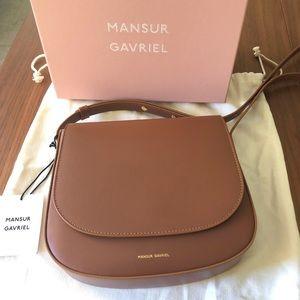 Manage Gavriel Crossbody Bag Saddle Calf Leather